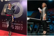 Tiru 9 gaya Najwa Shihab dalam mix and match kain khas Indonesia