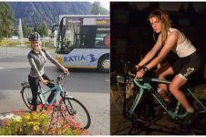 Gaya 10 cewek gowes sepeda ini pancarkan aura seksi sekaligus enerjik