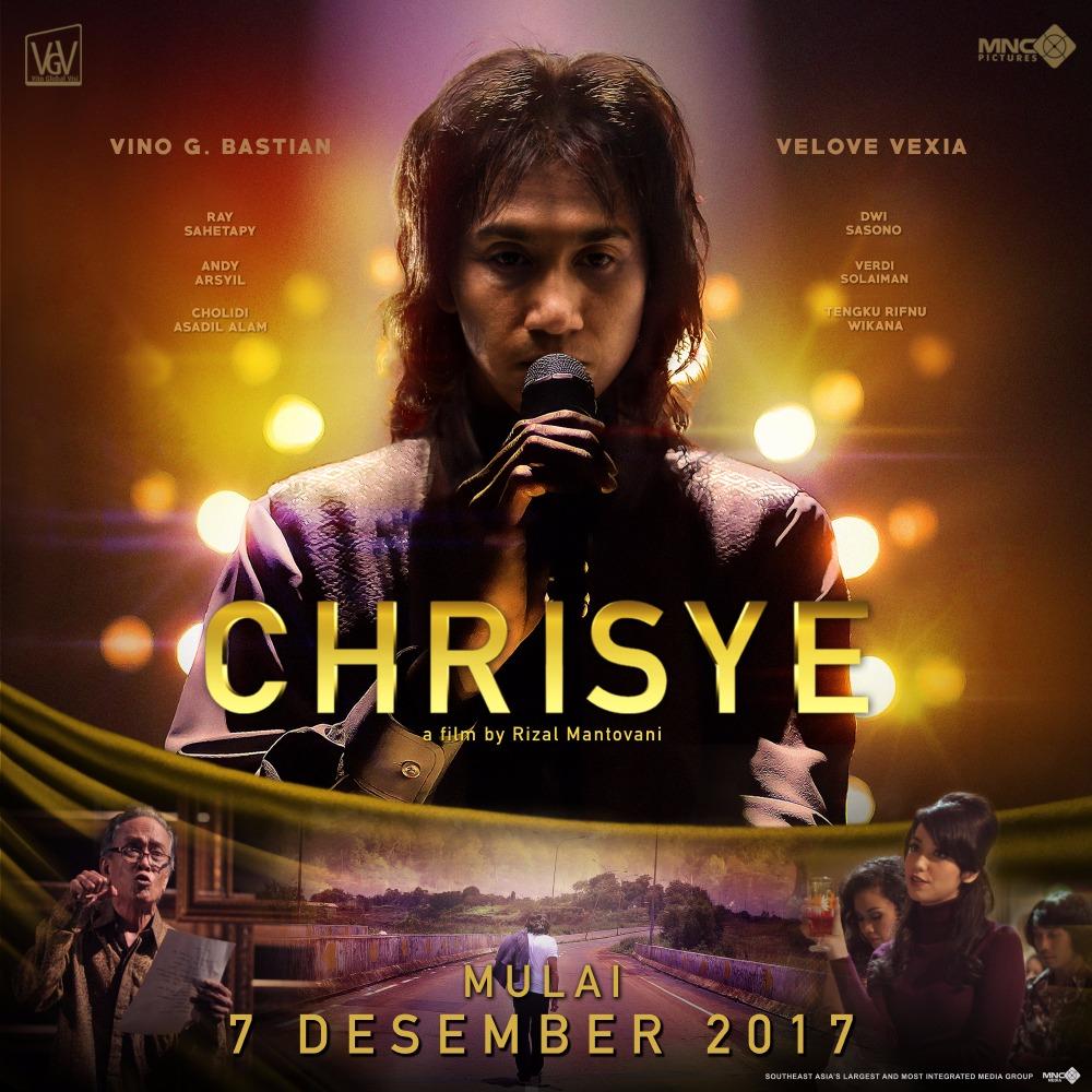 Kisah hidup musisi legenda Chrisye dituangkan ke dalam film keren ini