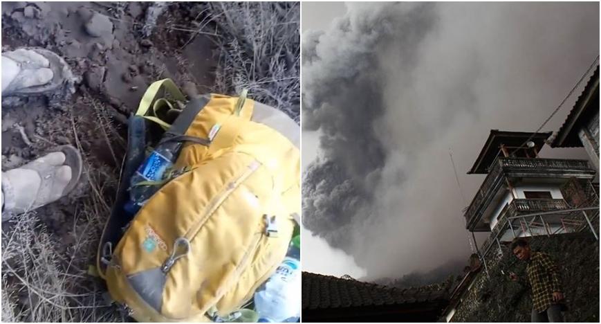 Pendaki rekam video dari kawasan rawan bencana Gunung Agung, nekat!