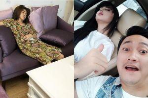 6 Seleb ini gemar memotret ekspresi pasangannya yang tertidur, jahil