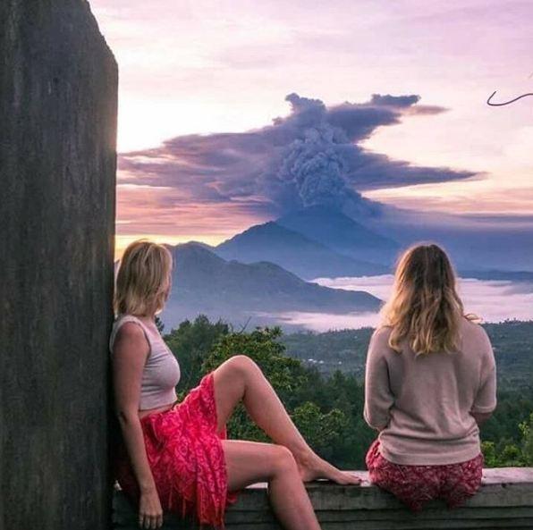 Gunung Agung © 2017 brilio.net