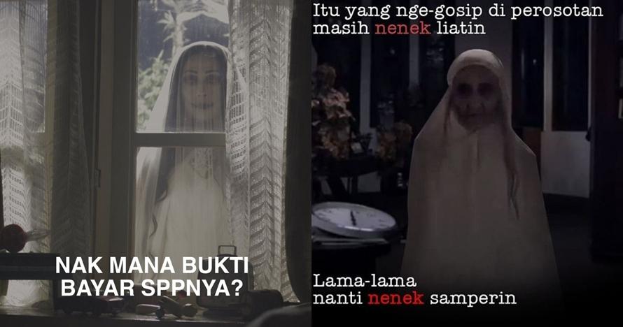8 Meme 'hantu film Indonesia' ini bikin gagal serem saking kocaknya