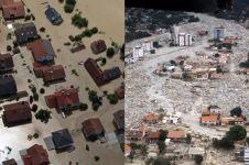 10 Bencana banjir paling besar di dunia, daratan seperti lautan