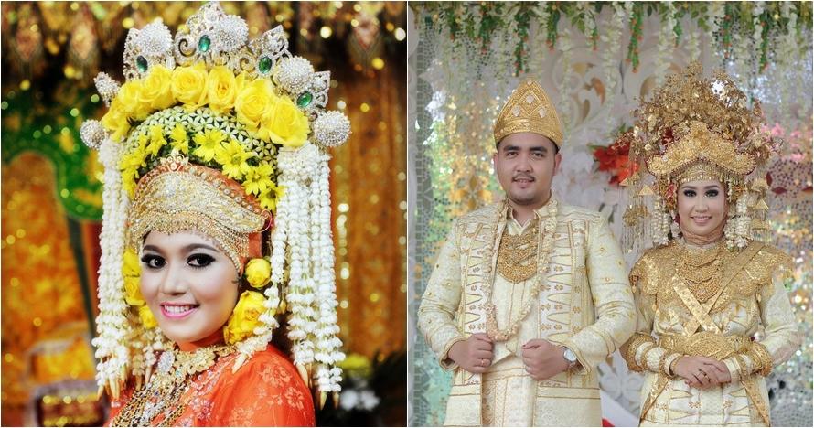 4 Mahkota pakaian adat paling berat di Indonesia, ada yang sampai 6 kg