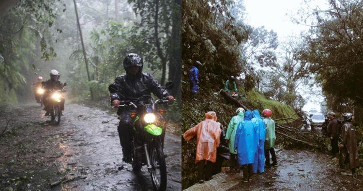 8 Foto kondisi Kebun Raya Cibodas yang ditutup karena cuaca ekstrem