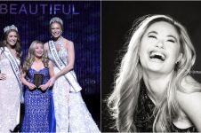 Penderita down syndrome ini sukses cetak sejarah di kontes kecantikan