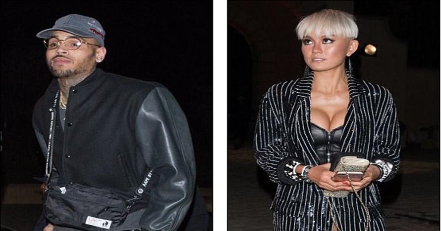 Agnez Mo dan Chris Brown kepergok hadiri acara ultah DJ Khaled