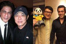 Momen-momen pertemuan bintang Bollywood dengan Hong Kong, seru pol