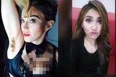 10 Seleb ini selfie dengan pose nyentrik, masih tetap kece nggak nih?
