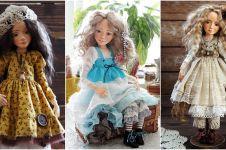 Cuma dari ukiran tanah liat, 10 boneka cantik ini detailnya keren abis
