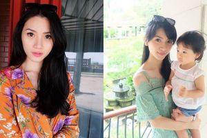 10 Potret Rachel Octavia, eks member Princess yang kini jadi hot mama