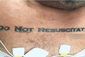 Gara-gara tulisan tato, dokter dibuat kebingungan tangani pasien ini
