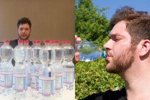 Pria ini harus minum 20 liter air setiap hari, faktanya bikin haru