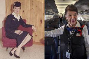 Bette Nash, pramugari 81 tahun yang sudah berkarier sejak 1958