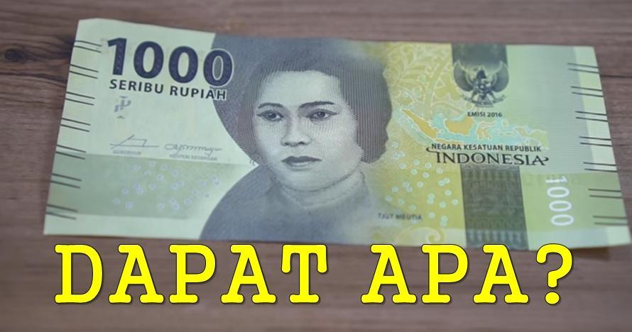 Ini 10 barang yang masih bisa kamu beli dengan uang Rp 1.000 sekarang