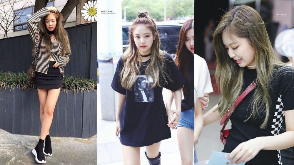 Style Tomboi Ala 7 Seleb Korea Swag Tapi Tetap Stylish