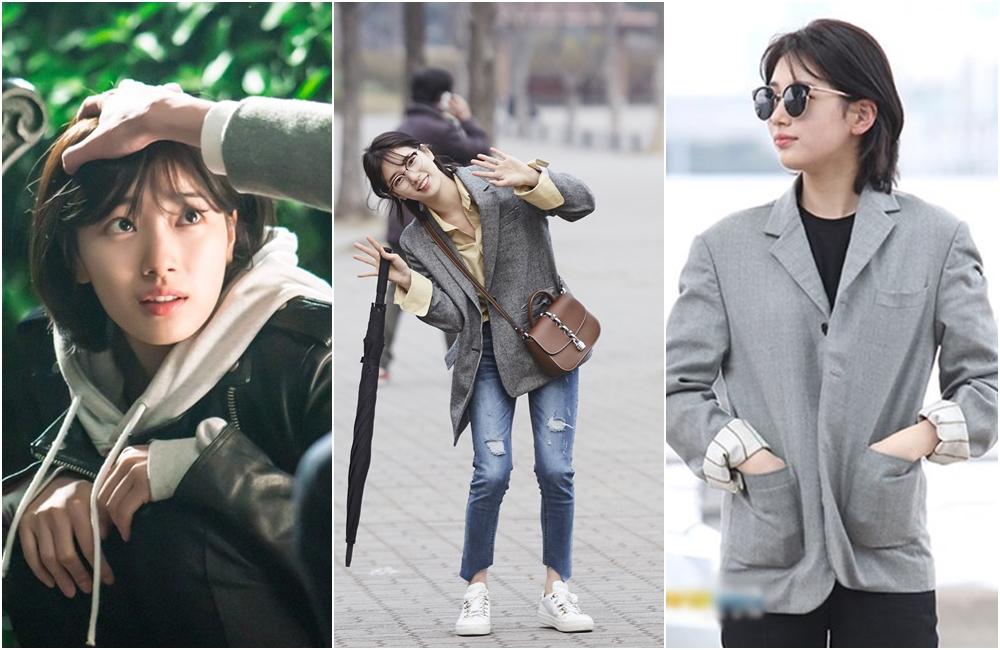 Style tomboi ala 7 seleb Korea, swag tapi tetap stylish