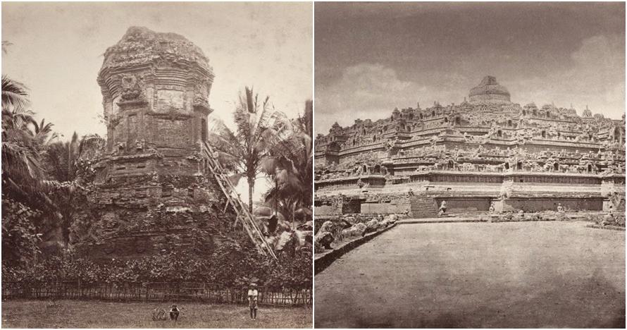 10 Potret lawas candi di Indonesia akhir abad ke-19, megah banget