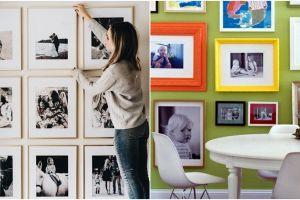 10 Ide dekorasi dinding rumah pakai foto, kece abis