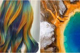 7 Tren hair coloring terinspirasi dari alam, unik & keren banget