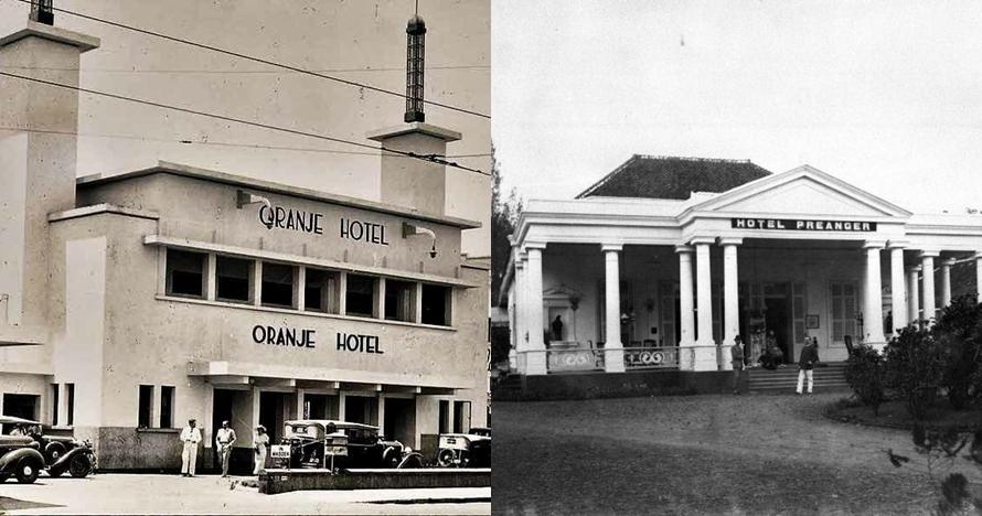Foto jadul 8 hotel tahun 1900an dari berbagai kota di Indonesia