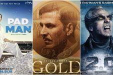 Beda gaya Akshay Kumar di tiga film barunya, bukti aktor jempolan