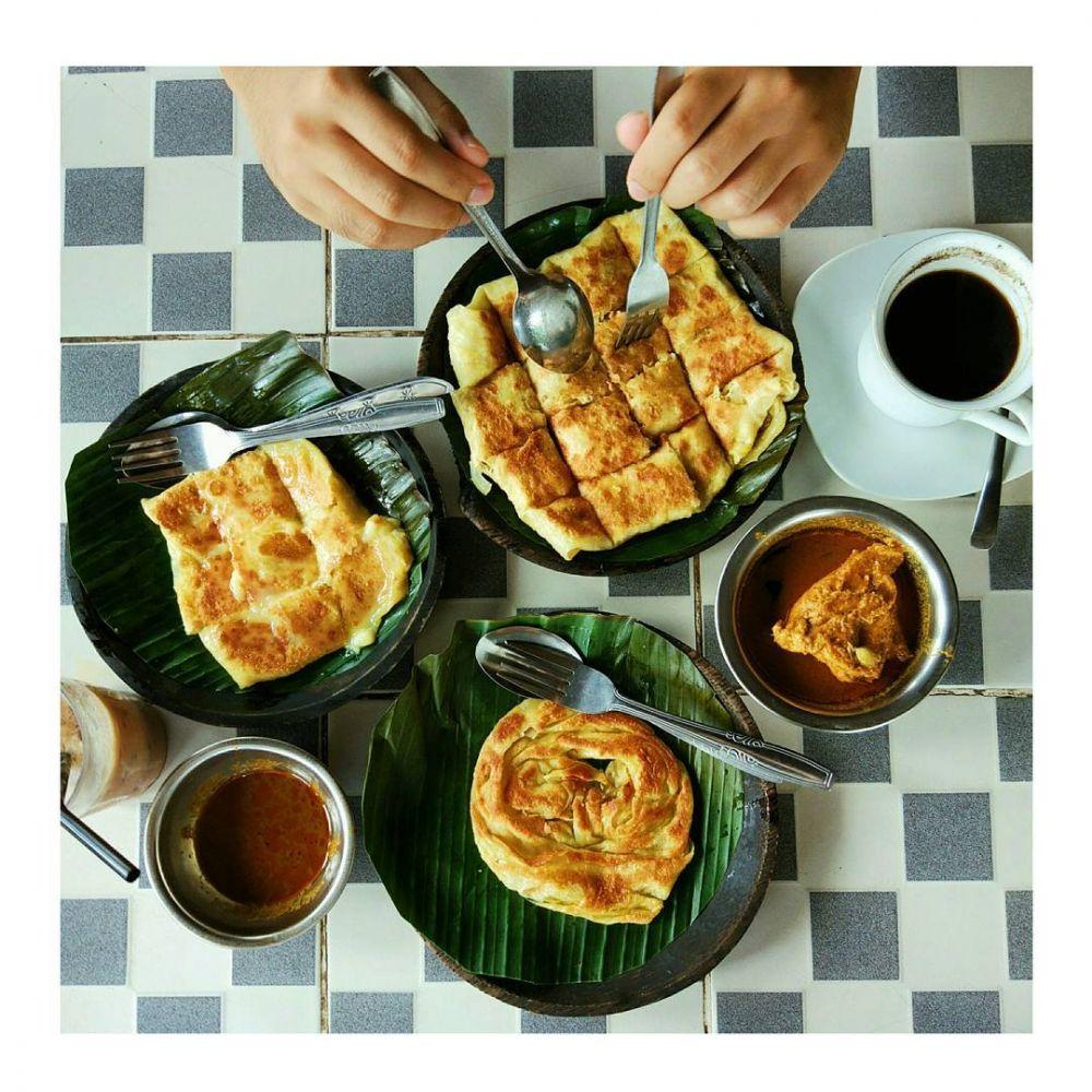 Yuk intip resep roti canai kuah kari, makanan khas India yang bikin ngiler istimewa