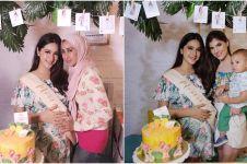 Tampil cantik menawan, ini 8 foto baby shower ala Nabila Syakieb