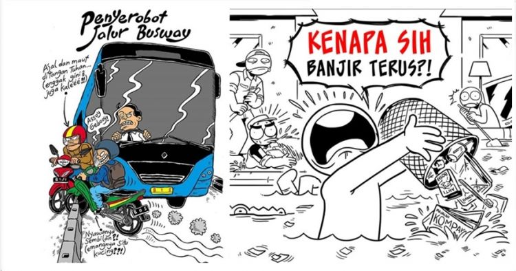 8 Kartun gambarkan kelakuan nyebelin, Indonesia banget