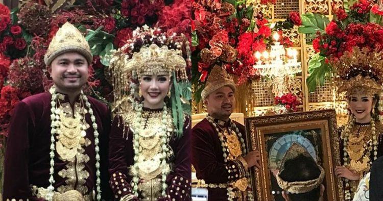 Sah, ini 8 momen sakral pernikahan Afif Kalla mantan Laudya Bella