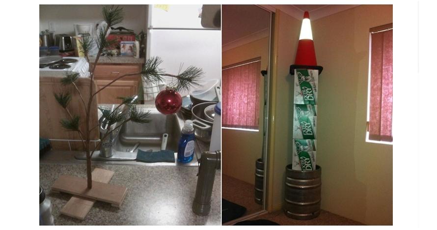 10 Dekorasi pohon Natal ala orang-orang malas ini bikin tepuk jidat