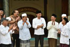 Ini puisi santri Pondok Tremas Pacitan yang bikin Jokowi terharu