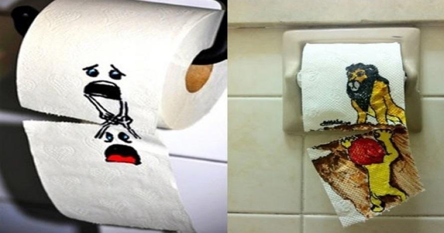 14 Karya vandalisme di toilet ini keren, bikin senyum-senyum sendiri