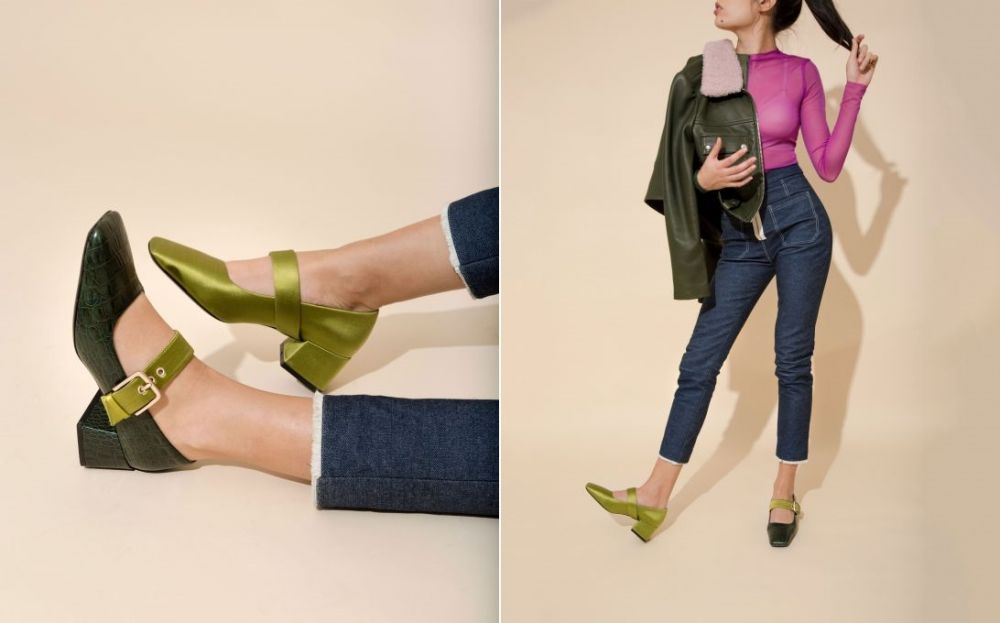 mismatched shoes COURTNEY YATES @ refinery29