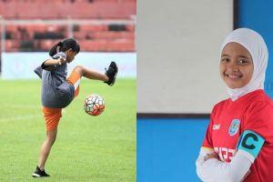 10 Foto cantiknya Hanipa, pemain Timnas U-15 dengan segudang prestasi