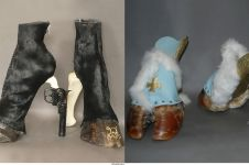 10 High heels dari kaki binatang ini nyeleneh banget, berani pakai?