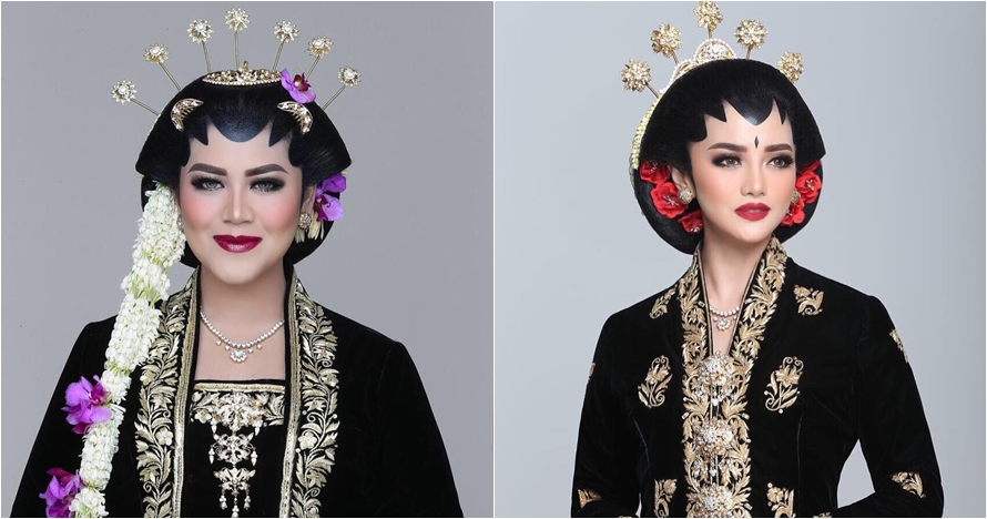 Selain Kahiyang, 4 seleb didandani ala pengantin Jawa ini manglingi