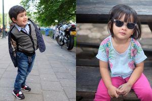 Beda gaya 10 anak selebriti hits, fashionable sejak kecil
