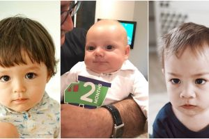 7 Bayi & balita seleb ini wajahnya bule banget, bikin makin gemes