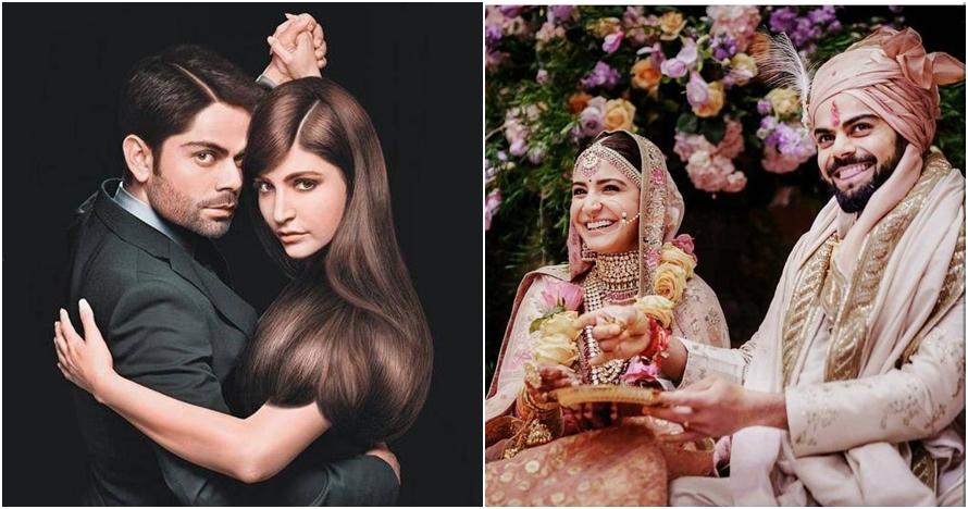 10 Momen perjalanan cinta Anushka Sharma & Virat Kohli hingga menikah