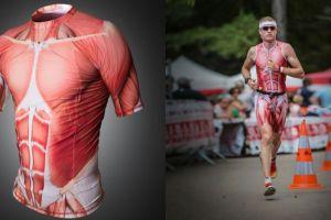 8 Pakaian olahraga berpola otot manusia ini bikin kamu tampil beda
