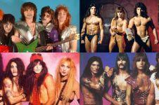 10 Foto band metal dunia 80-an paling gagal, posenya nggak sangar blas