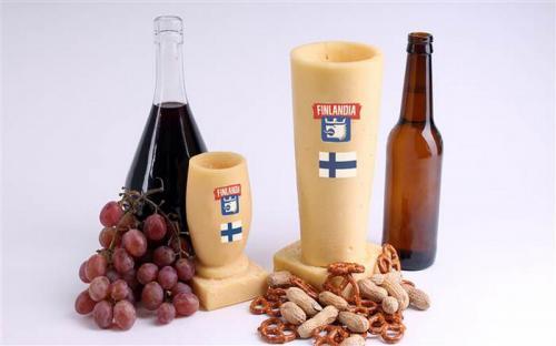 Unik, gelas wine ini terbuat dari keju dan harganya bikin melongo