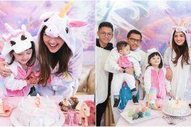 Potret kemeriahan ulang tahun Arsy Hermansyah yang ketiga di Bangkok