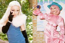 10 Potret Lactatia, bocah laki-laki yang jadi drag queen 'cantik'