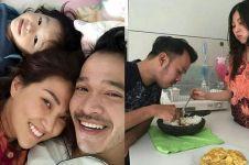 Ruben Onsu dan Sarwendah makan pakai cobek, warganet ingatkan pamali