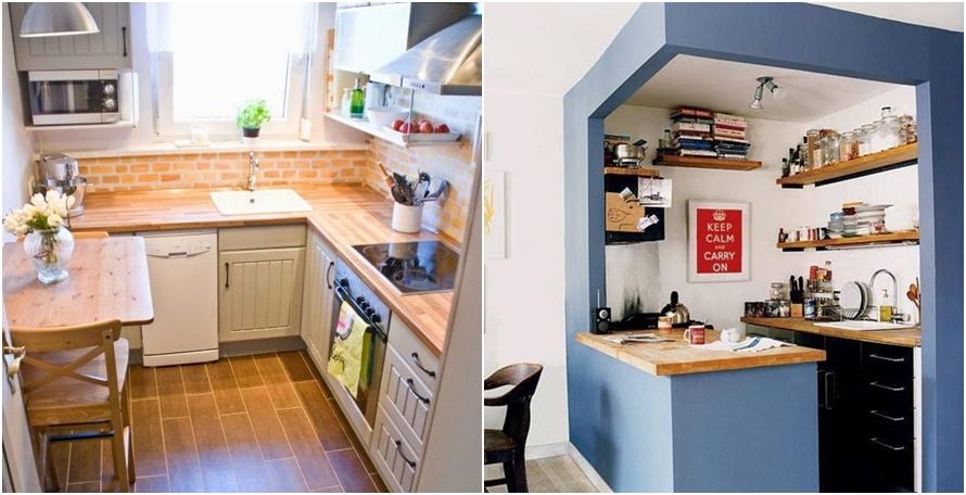 8 Cara Desain Dapur Minimalis Tapi Nyaman Bikin Makin Rajin Mema