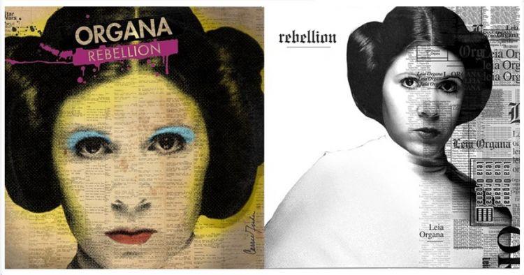 10 Potret karakter Star Wars jika jadi cover album, fans pasti suka