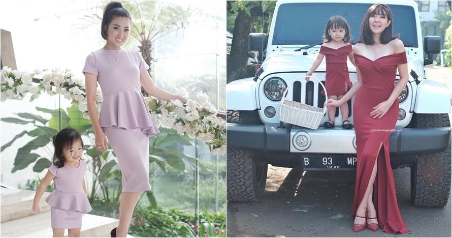 5 Artis cantik ini kembaran baju sama putri kecilnya, kompak abis